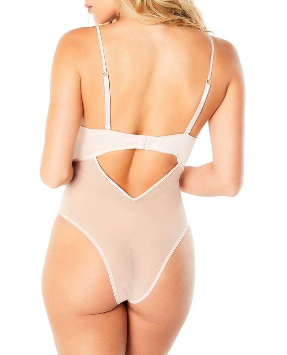 Unlined Lace Bodysuit Rosewater 2