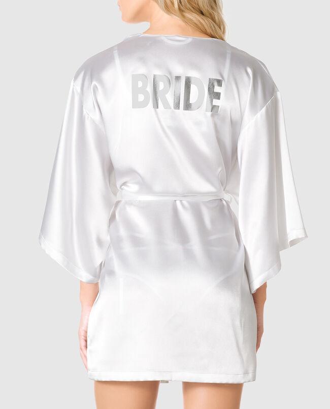 Bridal Satin Kimono