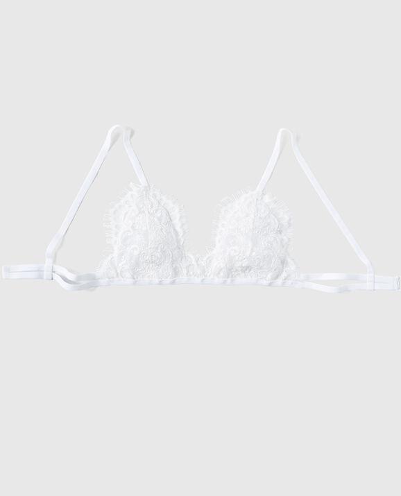 Lota Lace Bralette White 1