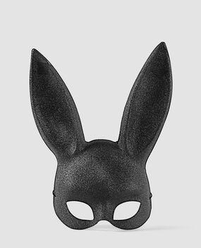 Sexy Bunny Mask Smoulder Black 1