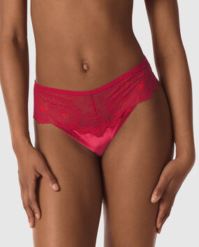 High Waist Cheeky Panty Red Lacquer 1
