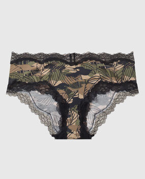 Hipster Panty Leafy Camo 1