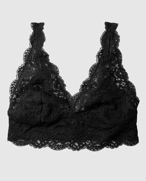 Lace Bralette Smoulder Black 1