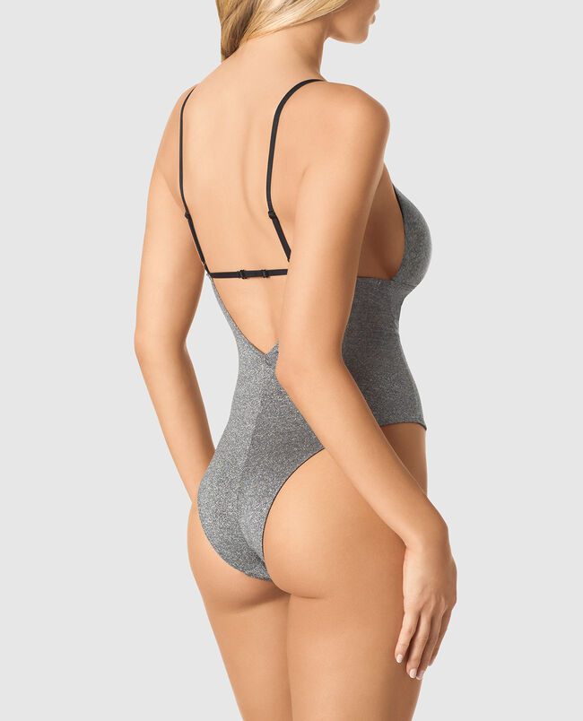 Lightly Lined Shine Bodysuit