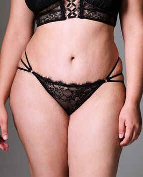 Constellation Bikini Panty Smoulder Black 1