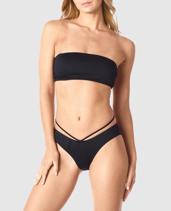 Bandeau Bikini Top Nero Black 3