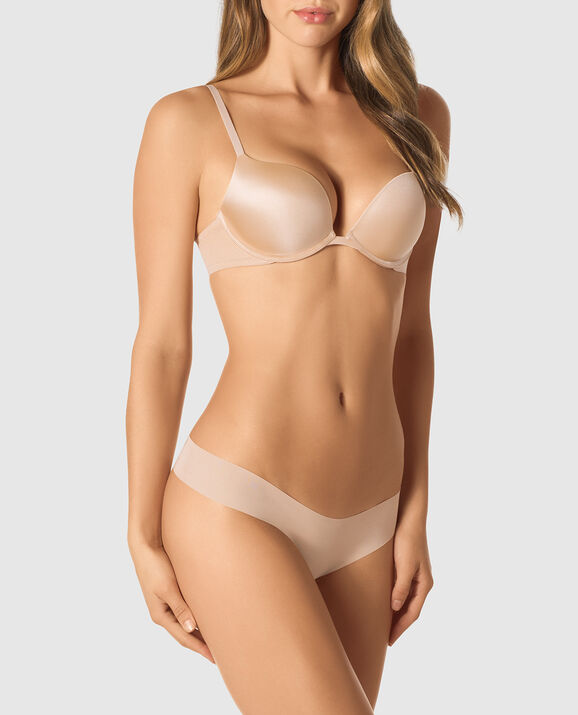 Push Up Bra Rose Tan 1