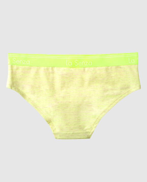 Hipster Panty Neon Lemonade Heather 2