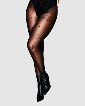 Heart Tights Smoulder Black 1