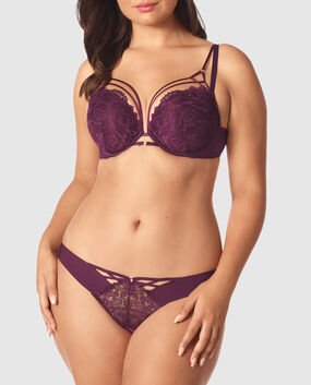 Push Up Bra Ruby Wine 1