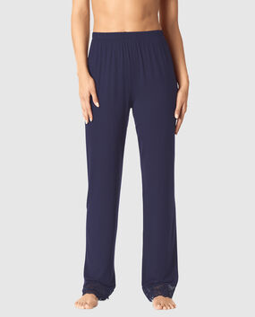 Modal Pant with Lace