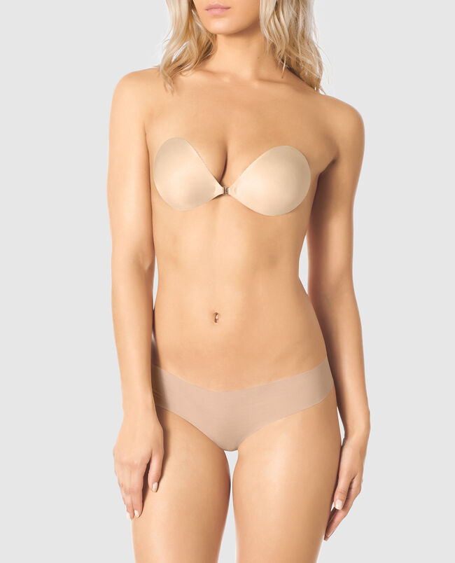 Feather-Lite Backless Push Up Bra