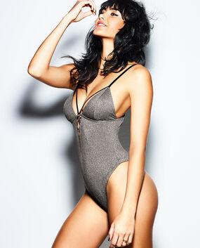 Lightly Lined Shine Bodysuit