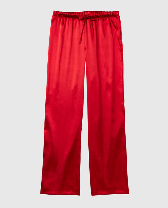 Satin Pant Cosmo Red 1