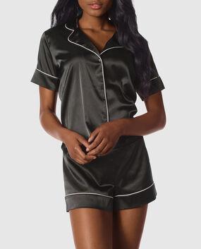 Satin Short Pajama Set