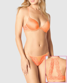 Front-Close Push Up Bra Mango Tango 1