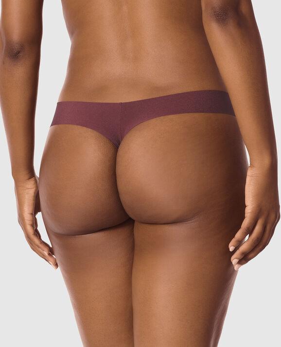 Thong Panty Chocolate Plum 2