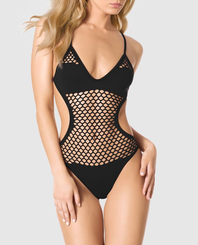 Seamless Perforated Bodysuit