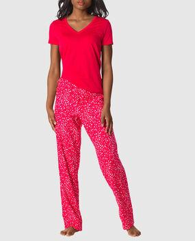 The Cozy Pajama Set Black Star 1