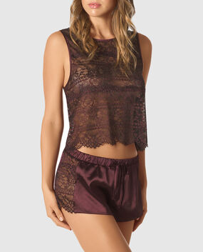 Lace Tank and Short Set
