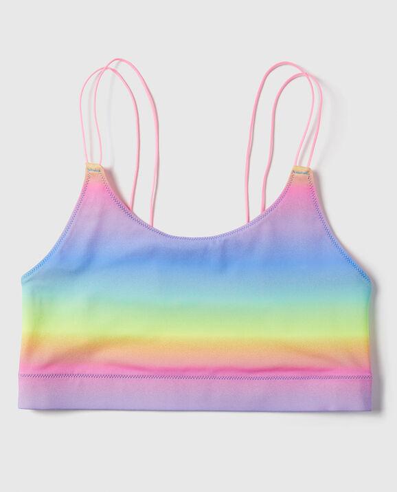Microfiber Bralette Rainbow Ombre 1