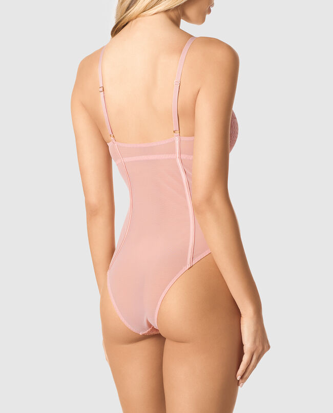 Push Up Microfiber Bodysuit
