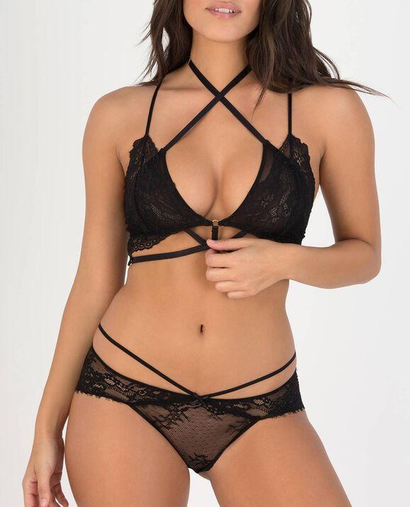 Arianna Bralette Smoulder Black 1