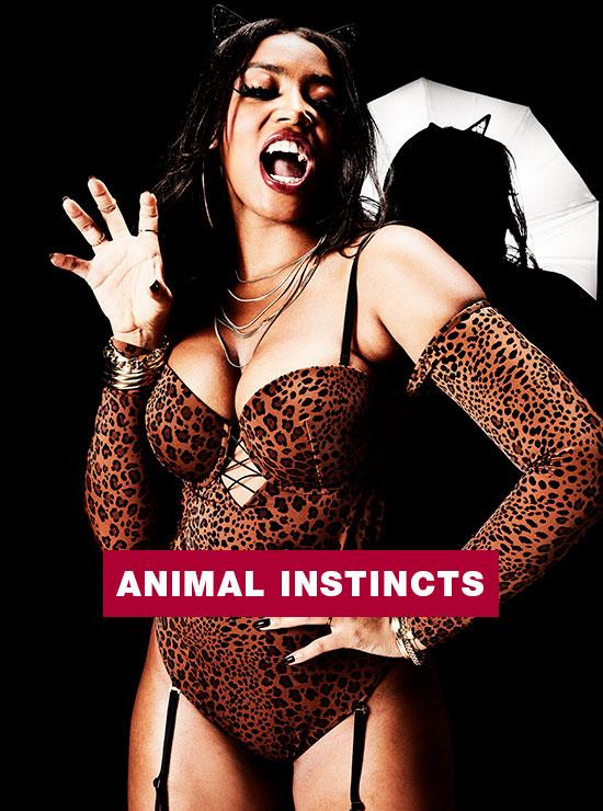 La Senza 'Animal Instincts' Look.