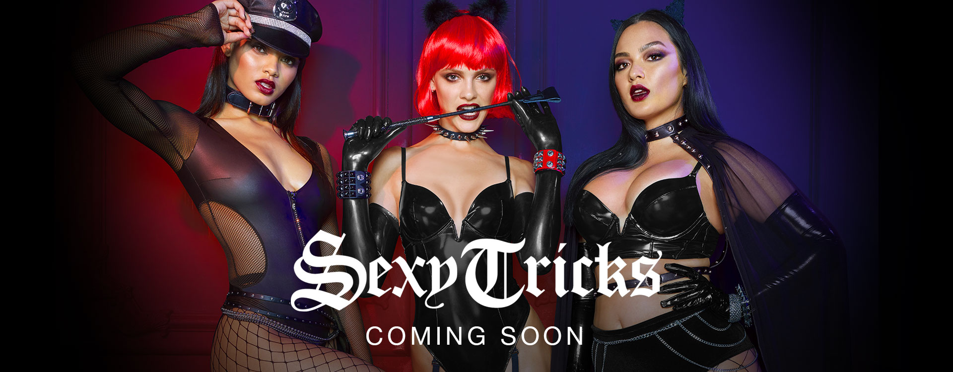 Sexy Tricks. Coming Soon.