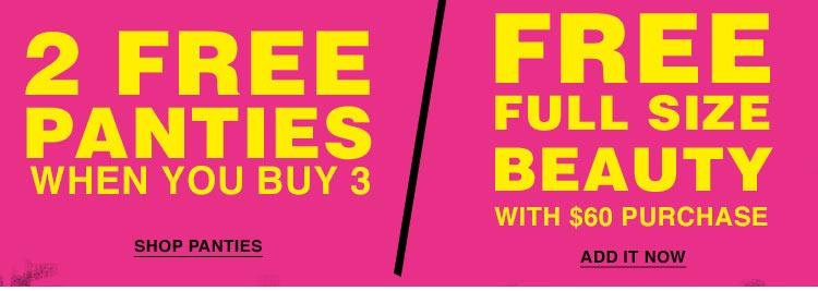 2 Free Panties!