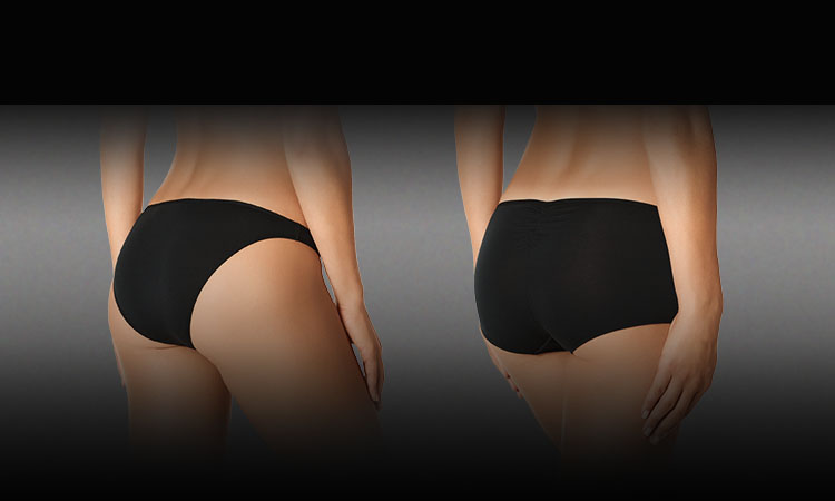 La Senza panty styles, Bikini, Boyshort.