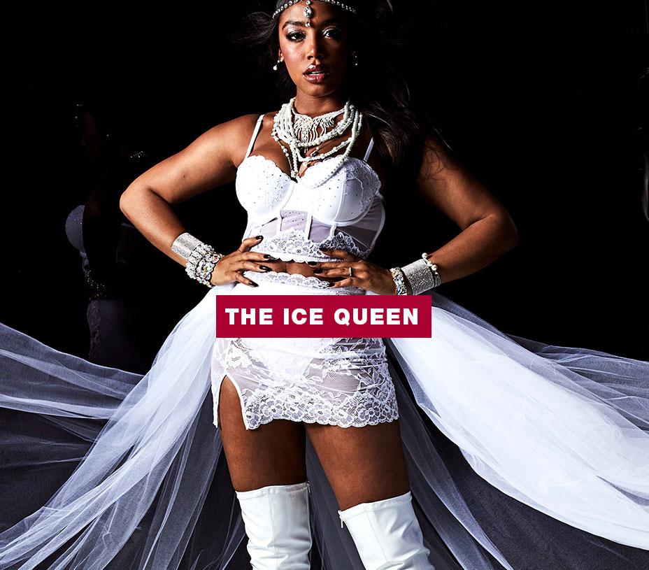 La Senza The Ice Queen Look