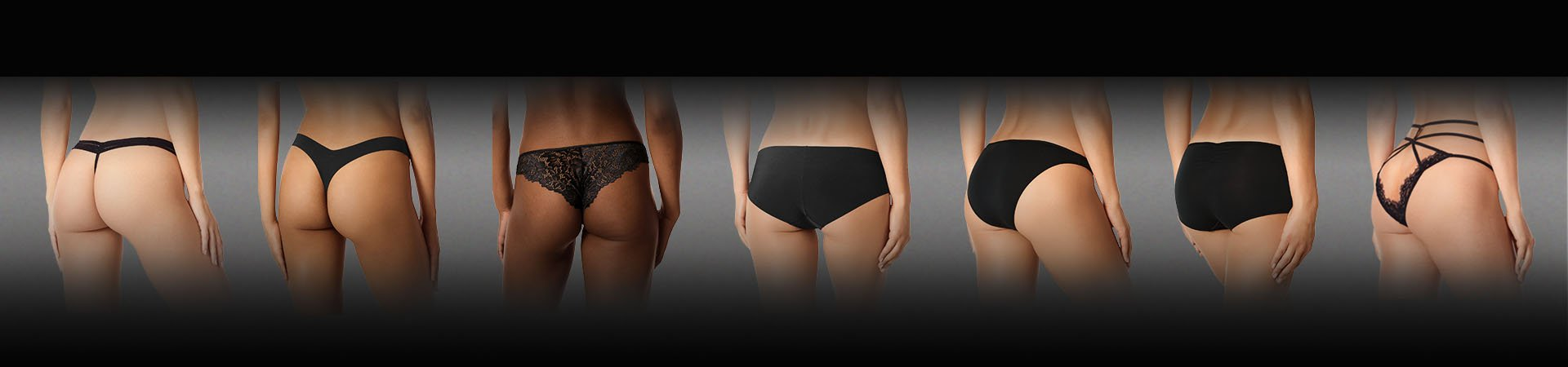 La Senza Remix Panties Line up. G-String, Thong, cheeky, Hipster, Bikini, Boyshort, & Boudoir.