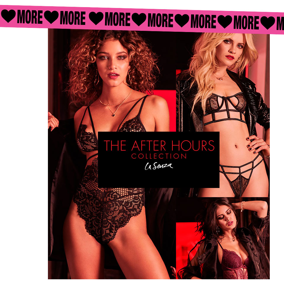 La Senza. The After Hours Collection.