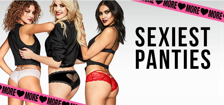 Sexiest panties.
