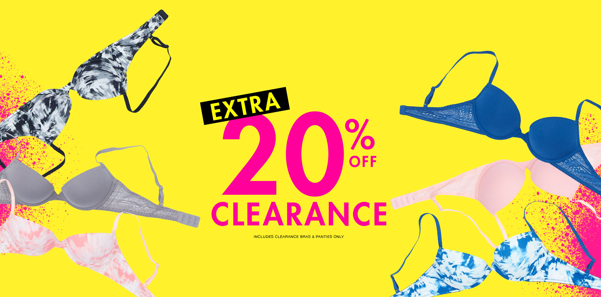 Extra 20% off clearance.