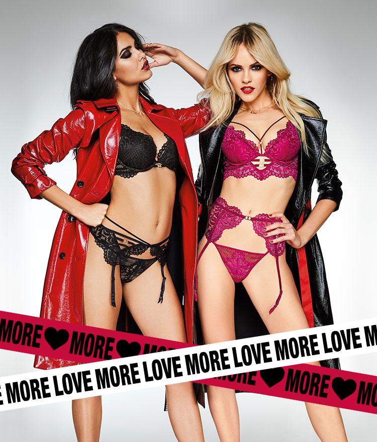 Love more. More love.