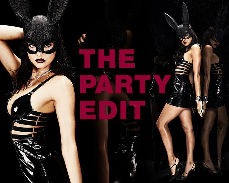 La Senza Halloween. Dark bunny suit.