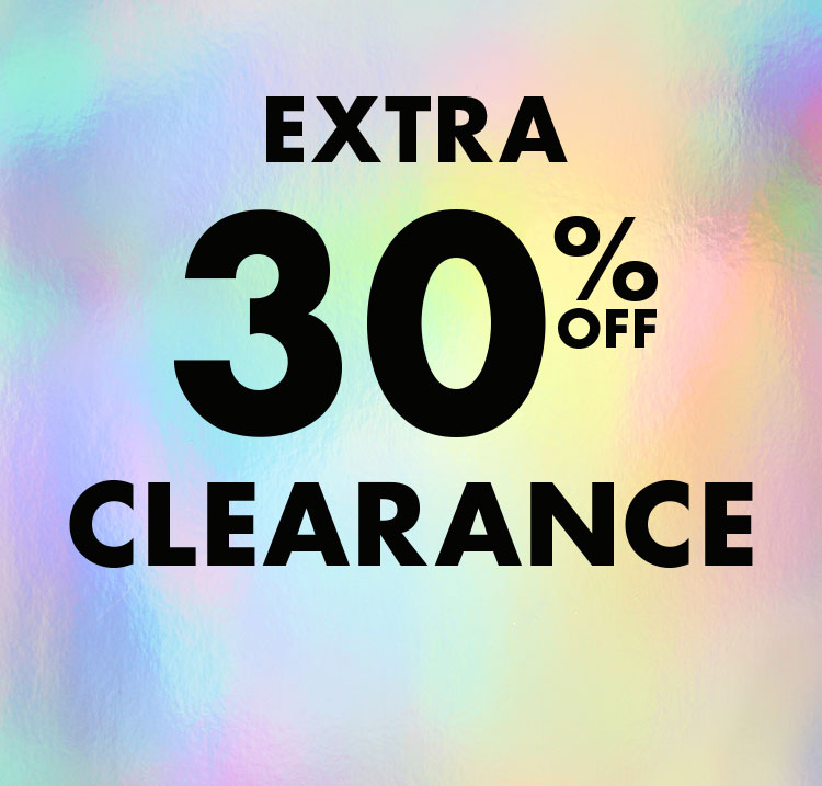Extra 30% off clearance.