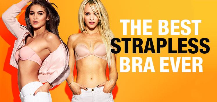 The best strapless bra ever.