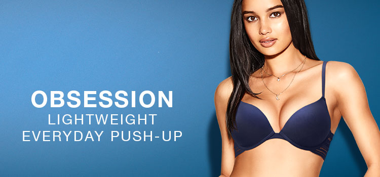 Obsession.Lightweight everyday push-up.